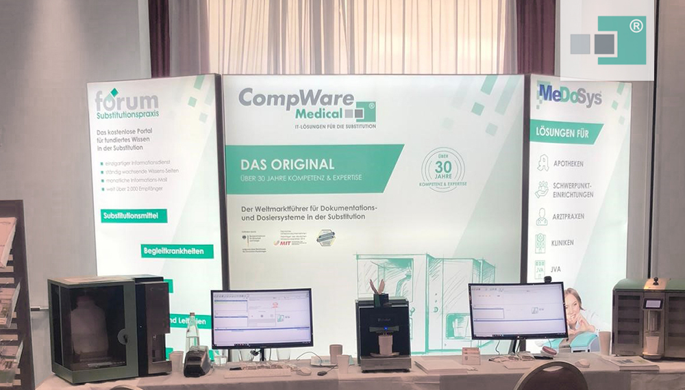 Neuer CompWare Medical Messestand